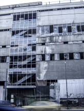Fix factory in disuse, Athens