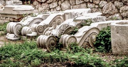 Ruins, Athens