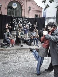 Tangueros en Sant Telmo, Buenos Aires