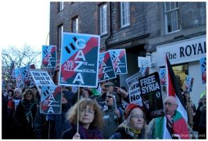 Edinburgh remembers Gaza