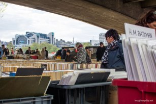 Second hand book market