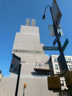 Bowery - New Museum