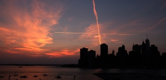 Manhattan skyline from Brooklyn Hights #01