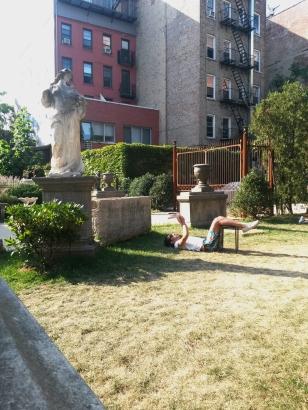 Nolita - Elizabeth street garden #01