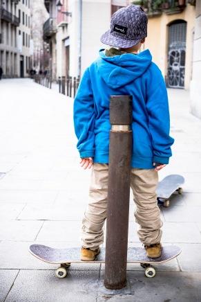 De mayor será skater