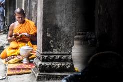 Buddhist monk #Angkor