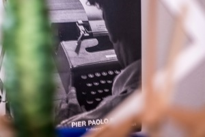 Dear Pier Paolo P. A photobook, a typewritter