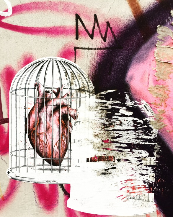 My heart in a cage